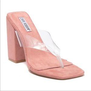 Cape Robbin Plum Block Heel Sandal Size 9 NWOB